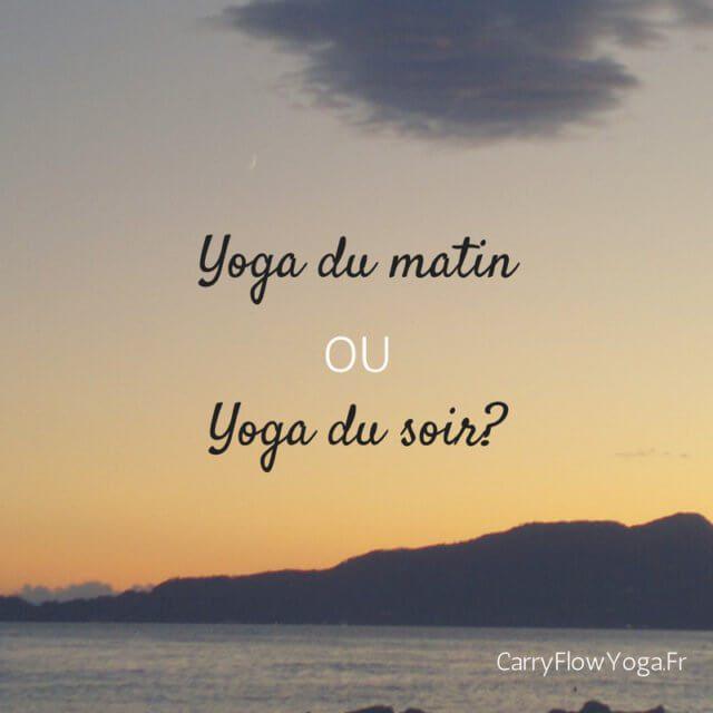 yoga moment pratiquer