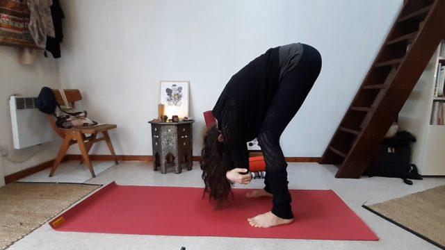 dangling pose yin yoga