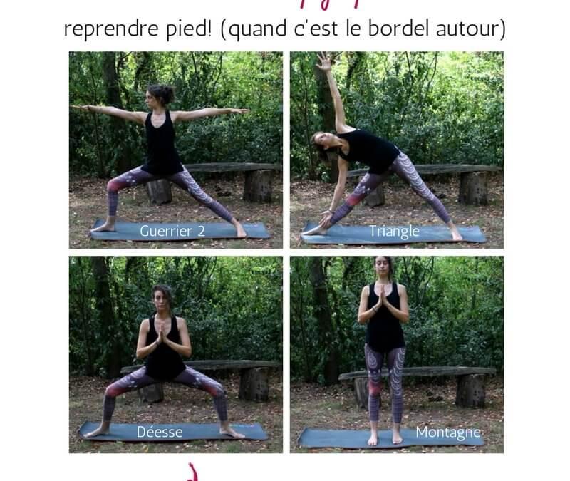 5 minutes de yoga quand c'est le bordel