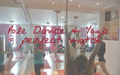 Comment le yoga peut améliorer ton niveau en pole dance?